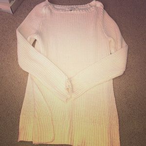 H&M knit sweater with high slits